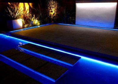 outdoor garden lighting London