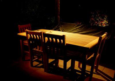 garden patio lights Installers Oxfordshire