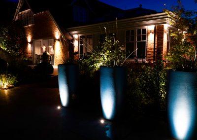 Outdoor garden lighting Oxfordshire