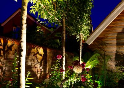 outdoor garden lighting Berkshire